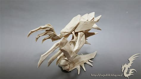 Origami Hydra - world of warcraft starcraft and other origami