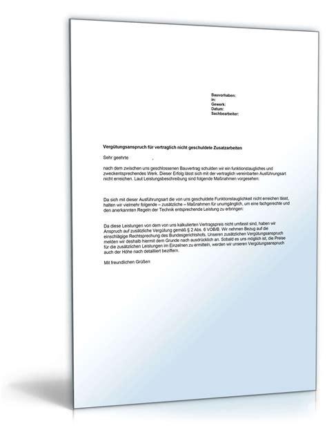 Musterbriefe Gratis Vorlagen Musterbriefe F 252 R Bauhandwerker Und Bauunternehmen Bau Immobilien 187 Dokumente Vorlagen