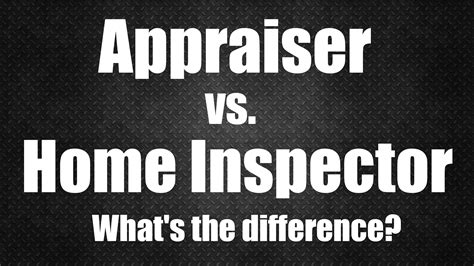 house appraisal real estate appraiser vs home inspector what s the difference birmingham