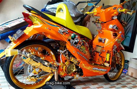 Foto Variasi Motor by 50 Foto Gambar Modifikasi Beat Kontes Racing Jari
