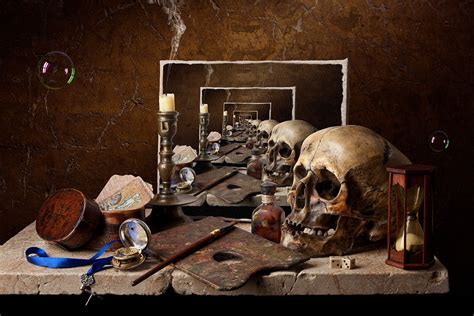 contemporary biography definition still life infinite vanitas by kevin best 2011 digital