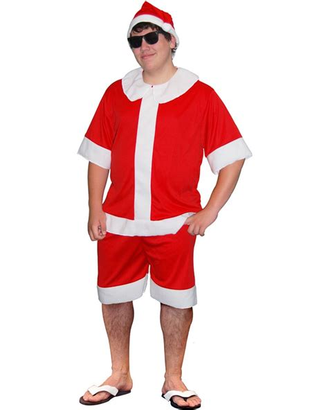 aussie summer santa short suit themes