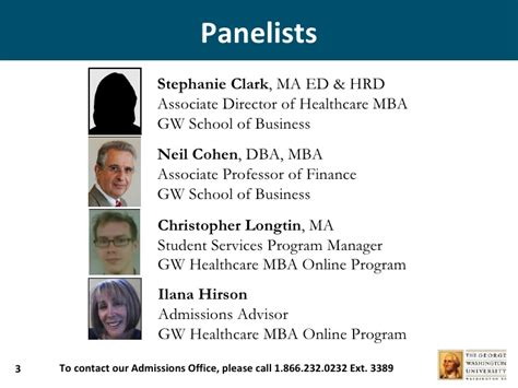 Of Massachusetts Mba Healthcare by Gw Healthcare Mba Sept 9th Information Session