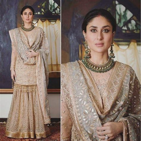 sharara dupatta draping the best dressed bollywood celebrities from diwali 2017