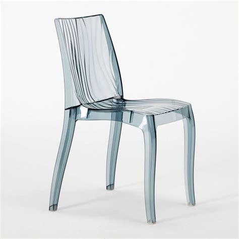 sedie de sedia impilabile in policarbonato lucido per uso interno