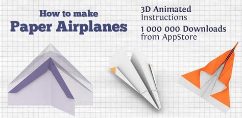 How To Make Paper Airplanes App - a need to app for sure how to make paper airplanes