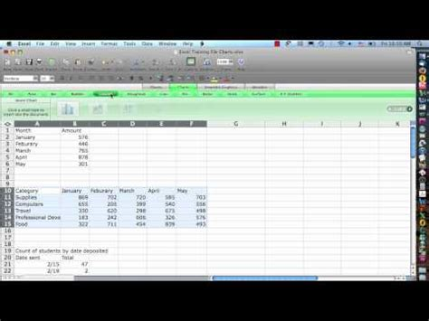 tutorial excel mac 2008 excel 2008 for mac charts step 1 how to make do