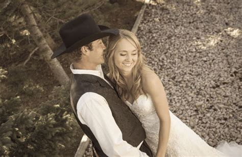 heartland star amber marshall discusses her two weddings