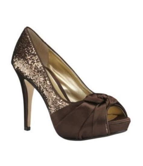 Brown Wedding Shoes by Wedding Shoes In Chocolate Brown Gowns Juxtapost