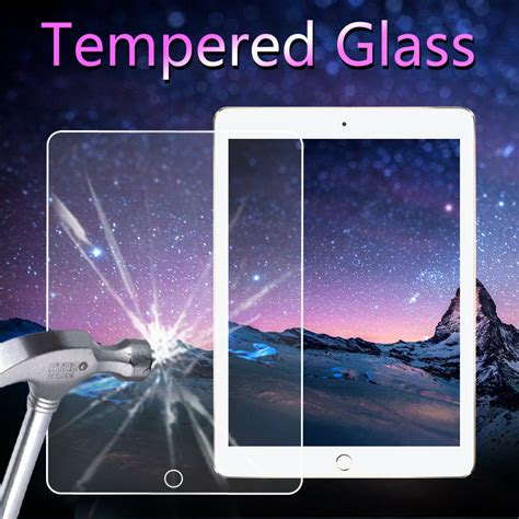 Tempered Glass Air 1 2 5 6 Pro 97 Inch Garansi P21g top quality tempered glass for apple air 1 2 for pro 9 7 screen protector in tablet