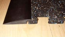 Rubber Floor Transition Strips by Transition Strips For Rubber Flooring Mats Zip Tiles