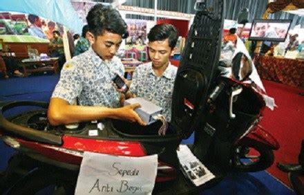 Alarm Motor Anti Begal siswa smk bikin alat anti begal motor dibegal langsung