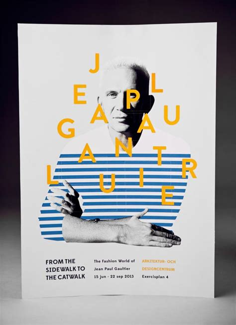 design poster unique graphic design by amanda berglund for a jean paul gaultier