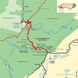 National Scenic Byway forest heritage national scenic byway map america s byways