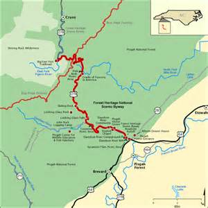 National Scenic Byway by Forest Heritage National Scenic Byway Map America S Byways
