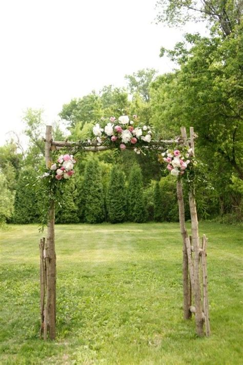 best 25 rustic wedding arbors ideas only on pinterest