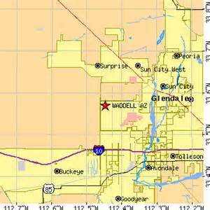 waddell arizona az population data races housing