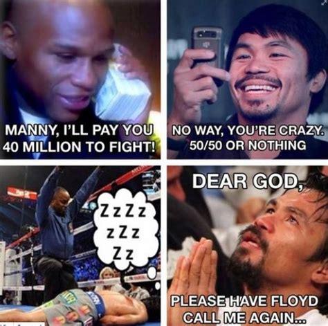 Manny Pacquiao Meme - floyd mayweather meme bashing pacquiao went viral