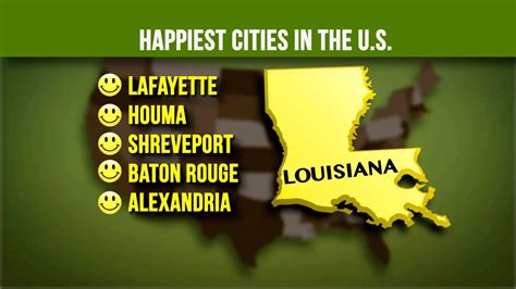 happiest place in america top 5 happiest cities in america are all in one state
