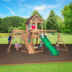Backyard Discovery Scenic Playhouse 199 99 Backyard Discovery Scenic Wooden Playhouse Dealepic
