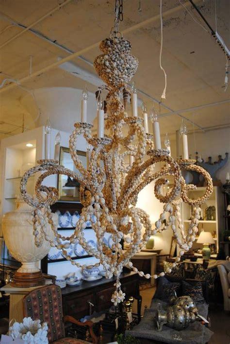 sea shell chandelier sea shell chandelier at 1stdibs