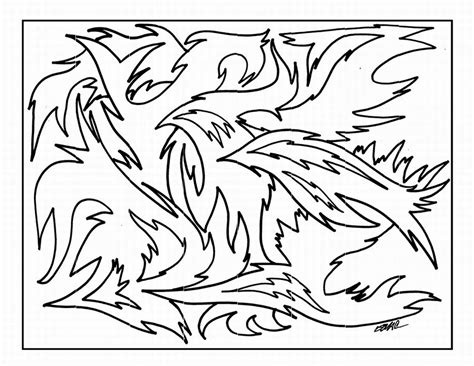 Free Printable Abstract Coloring Pages For Kids Artist Coloring Pages