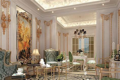 design wallpaper klasik desain rumah klasik nan megah