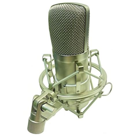 Alctron Mc001 Condensor Mic Cardioid alctron mc001 studio condenser microphone with shock mount