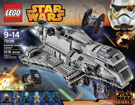 Lego 75106 Starwars Imperial Assault Carrier toys n bricks lego news site sales deals reviews mocs new sets and more