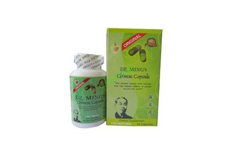 Had 600 Pills All From One Doctor by Original Dr Ming S Pill Herbal Tea Dr Ming Capsule Product