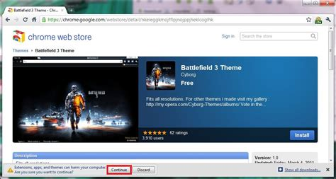 cool themes for google chrome battlefield 3 theme for google chrome browser i have a