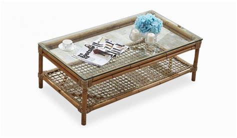 bramley coffee table conservatory rattan delux deco