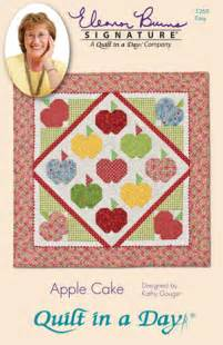 Eleanor Burns Quilting Books by Apple Cake Eleanor Burns Signature Quilt Pattern