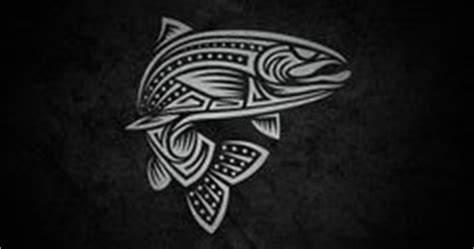 tribal trout tattoo 1000 images about tatoos on fly fishing