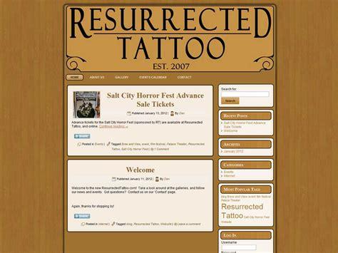 resurrected tattoo syracuse ny web dtpmdesign