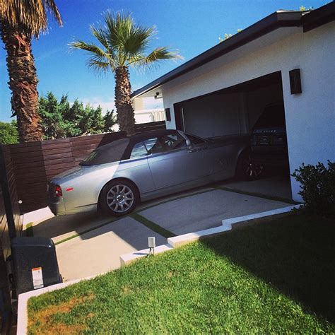 royces music house scott disick needs a bigger driveway celebrity cars blog