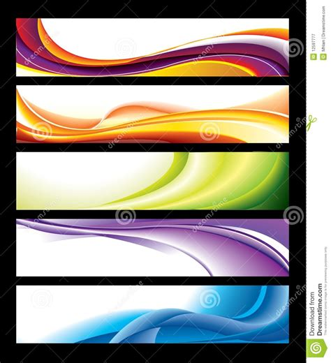 photography banner template horizontal banner collection stock vector image 12597777
