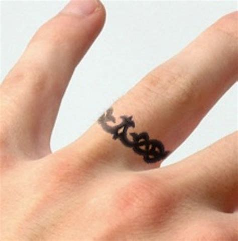 tattoo finger ring 27 finger ring tattoos
