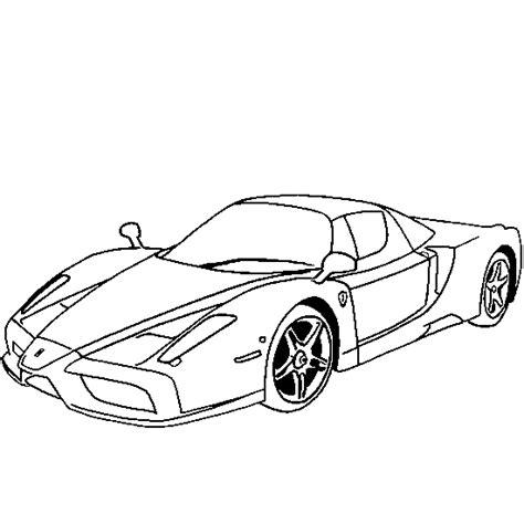 Dessin De Ferrari Enzo Coloriages De V 233 Hicules 224 Imprimer Coloriage En Ligne Voiture FerrariL