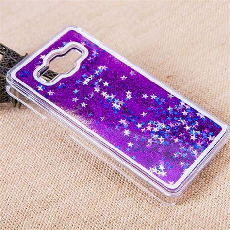 Samsung Galaxy J5 J500 Chanel Water Glitter Cover Casing Unik 1 dynamic liquid water glitter paillette sand