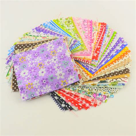 Patchwork Material Packs - 30 pieces lot 10cmx10cm charm pack cotton fabric patchwork