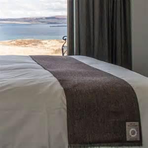 King Size Bed Runner Weavers Tweed Bed Runners Luxury For Your Bedroom