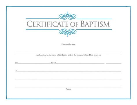 search results for free baptism certificate template