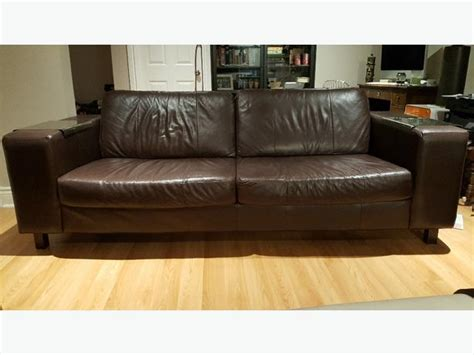 Eq3 Leather Sofa Eq3 Leather Sofa Style Hugo Central Ottawa Inside Greenbelt Ottawa