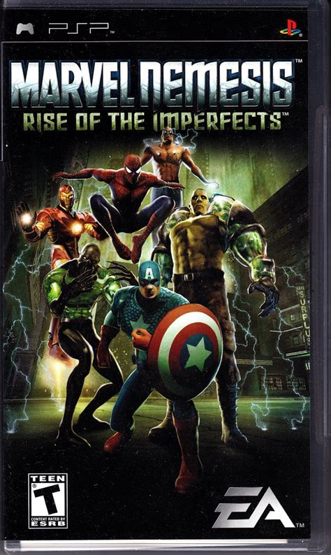 what format does a psp game have to be image gallery marvel nemesis