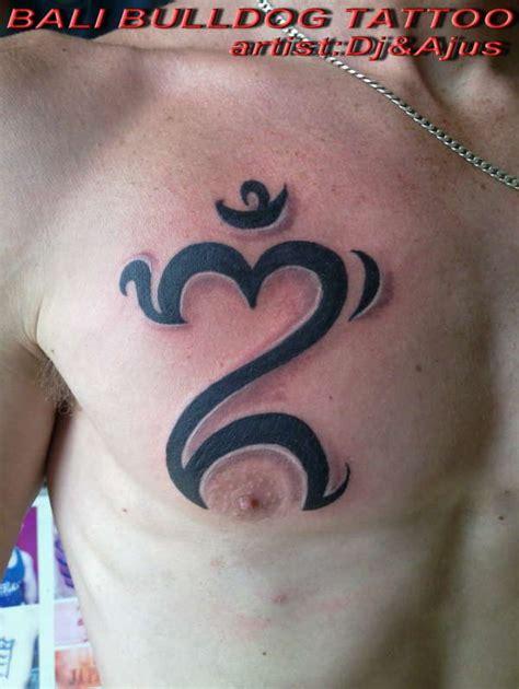 bali om tattoo bali om symbol tattoo