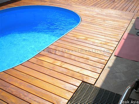 pavimento teak esterno amazing pavimento in legno per esterno in teak asia with