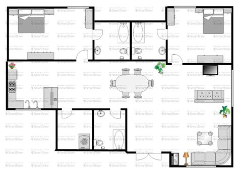 single storey house floor plan design single story open floor plans one level floor plans 3 bed