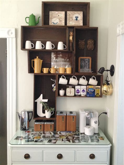 Kitchen Storage Design Ideas 25 best ideas about coffee corner on pinterest coffe