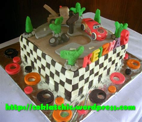 cara membuat kue mc queen cake lightning mc queen dan mater keizha jual kue
